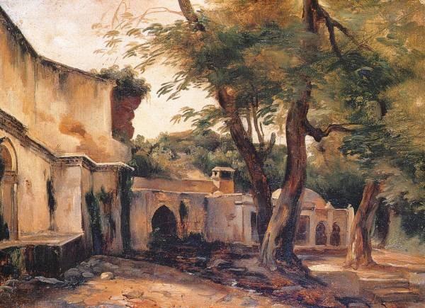 Jean Charles Fountain near Algiers